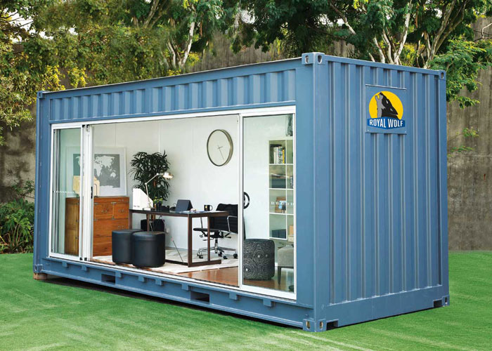 cabins production and design  eco sea containers